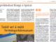 Article de Jordi Cuixart al diari islandès Fréttablaðið, el 30 d'octubre de 2018.