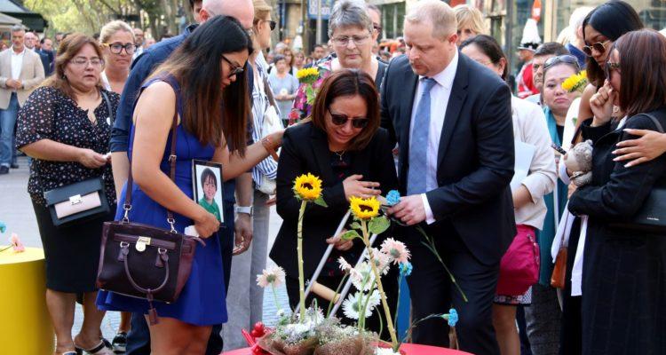 ofrena floral atemptats barcelona