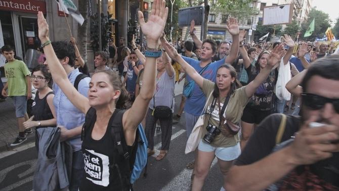 Imatge del documental 'Llibertats empresonades', del programa Sense Ficció de TV3. Imatge: CCMA.