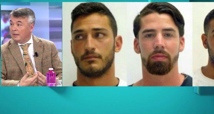 """L'advocat de 'La Manada' ha estat convidat de nou aquesta setmana a diversos platós, com el d'""""El programa d'Ana Rosa"""". Imatge: Telecinco."""