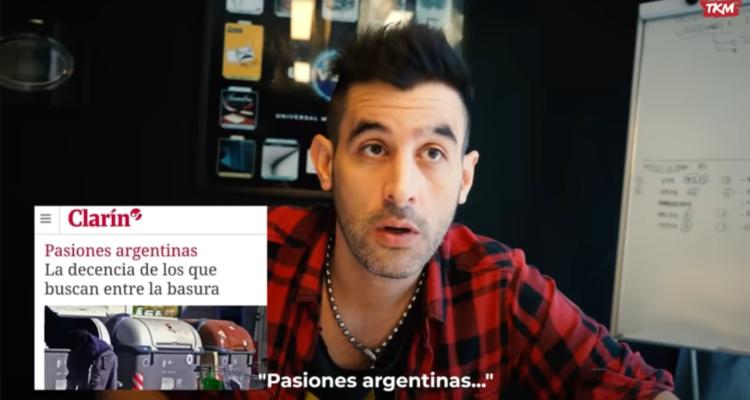 El president argentí Macri va censurar un vídeo viral sobre el servilisme dels mitjans amb el govern. Imatge: TKM.