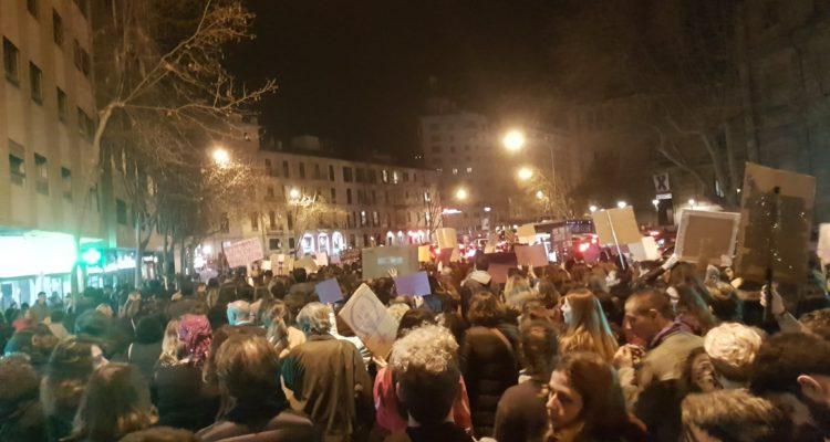 Manifestació feminista als carrers de Palma, el 8 de març de 2019. Foto: ComFem, xarxa de comunicació feminista de les Balears.