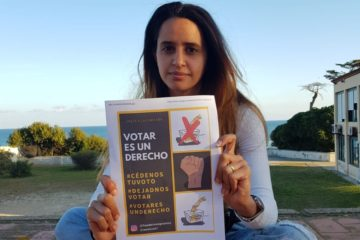 Safia Elaaddam és una de les impulsores de la campanya 'Votar es un derecho'. Foto. Safia Elaaddam.