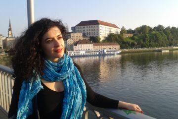 La periodista i professora Leila Nachawati. Foto: cedida.