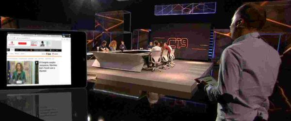 Programa especial d'eleccions el passat mes de maig a TV3. Foto: CCMA.