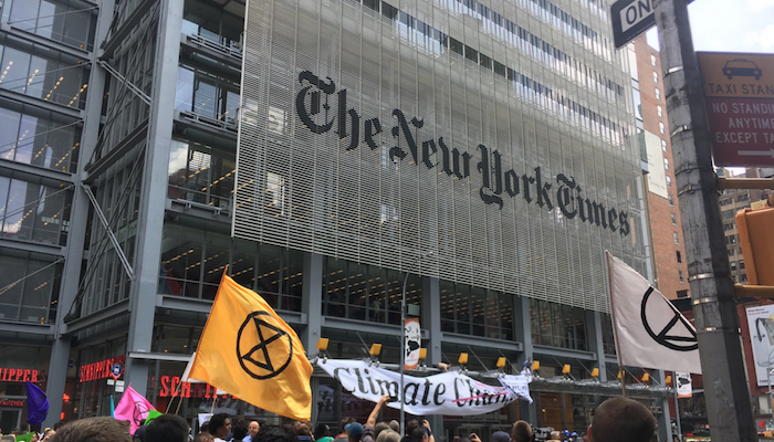 new york times canvi climàtic