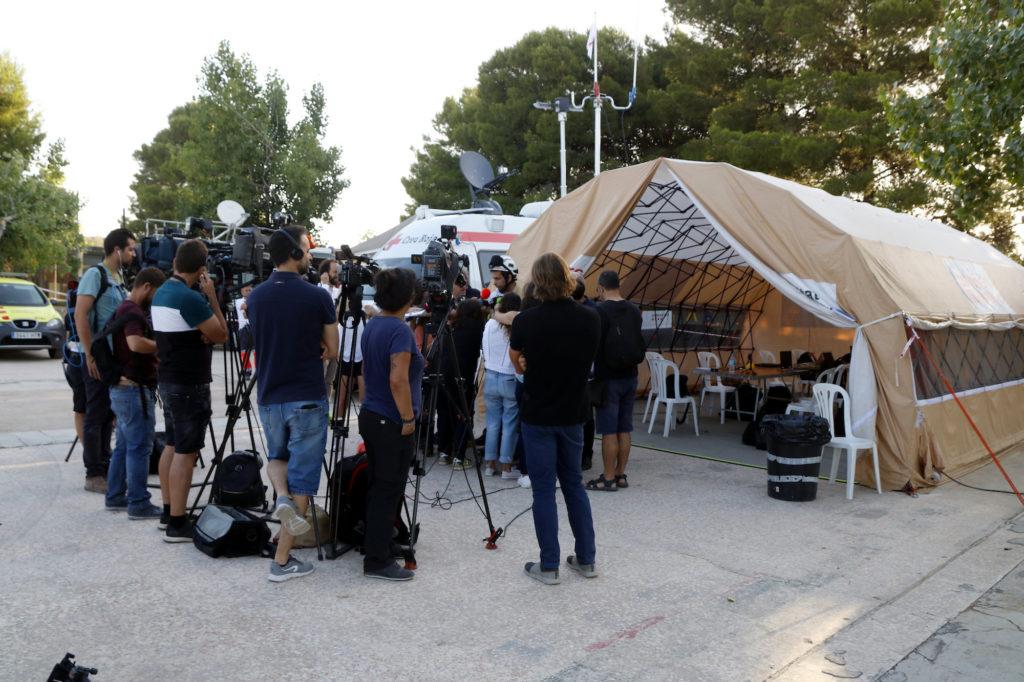 periodistes incendi ribera ebre