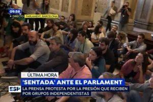 espejo publico agressions parlament