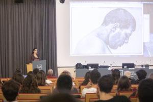 Lliçó inaugural dels estudis de Periodisme del curs 2019-2020 a la Universitat Pompeu Fabra. Foto: UPF.