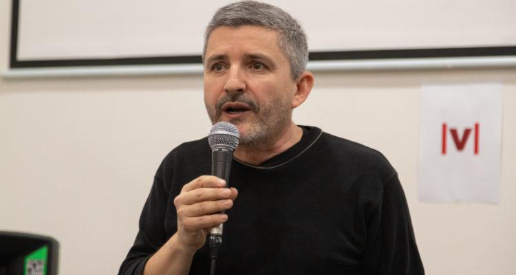 Moisès Vizcaíno, editor de 'La Veu del País Valencià'. Foto: Ulisses Ortiz / cedida.