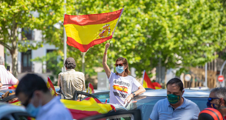 Manifestació de VOX a Madrid. Foto: VOX (Flickr)