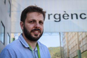 Enric Murillo, director de comunicació de l'Hospital Germans Trias i Pujol. Foto: Marc Solanes