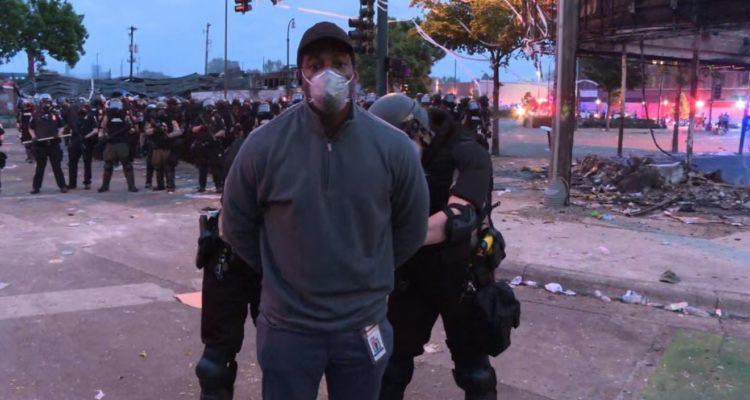 CNN journalist Omar Jimenez. Foto: CNN
