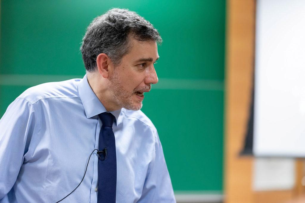 Ramón Salaverría en una foto d'arxiu. Foto: Fernando Mucci