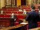 El conseller d'Empresa i Coneixement, Ramon Tremosa, intervé al ple del Parlament del 18 de novembre davant del vicepresident del Govern, Pere Aragonès. Foto: Gerard Artigas / ACN.