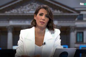 La periodista Ana Pastor presenta 'El Objetivo', a La Sexta. Foto: cedida.