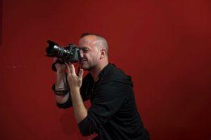 El fotoperiodista Àngel García treballa actualment per l'agència Bloomberg. Foto: Geraldine Hope.