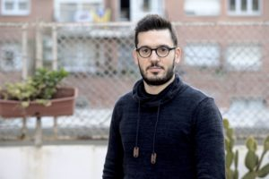 Adrià Soldevila ha guanyat, juntament amb Sergi Escudero i Sique Rodríguez, el Premi Ramon Barnils de periodisme d'investigació 2020 pel tema del 'BarçaGate'. Foto: Albert Avilés / Grup Barnils.