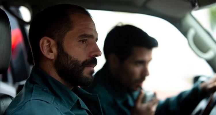 Els guàrdies civils de la sèrie 'Altsasu' parlen en català en la versió doblada que n'emet TV3. Imatge: CCMA.