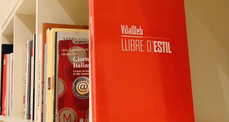 Aquest gener ha sortit a la venda el manual d'estil de Vilaweb, on s'exposen els criteris emprats en la llengua periodística del diari, Imatge: Vilaweb (cedida).