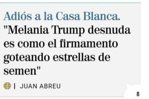 Article de Juan Abreu a 'El Mundo'.