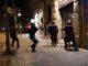 Mossos d'Esquadra durant una càrrega en el marc d'una protesta contra la sentència de l'1-O. Foto: ACN / Gemma Tubert.