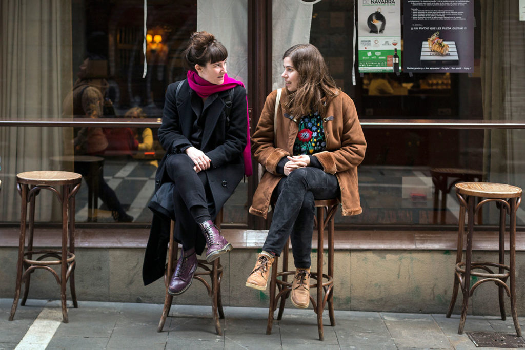 Marta Nieto i Marga Almirall, de la cooperativa Drac Màgic. Foto: cedida.