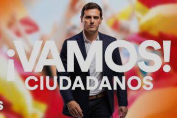 Imatge de campanya de Ciutadans a les eleccions generals de 2019.