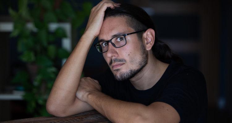 El fotoperiodista Albert Garcia. Foto: Cèlia Atset (cedida).