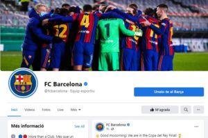 La pàgina oficial de Facebook del Barça té 103 milions de seguidors