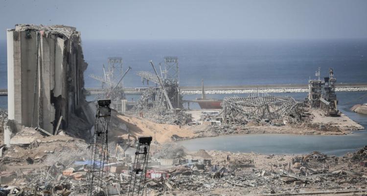Beirut, després de l'explosió al port. Foto: Commons Wikimedia Mehr News Agency