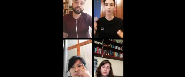 Conversa sobre mitjans i racisme a Instagram Live.
