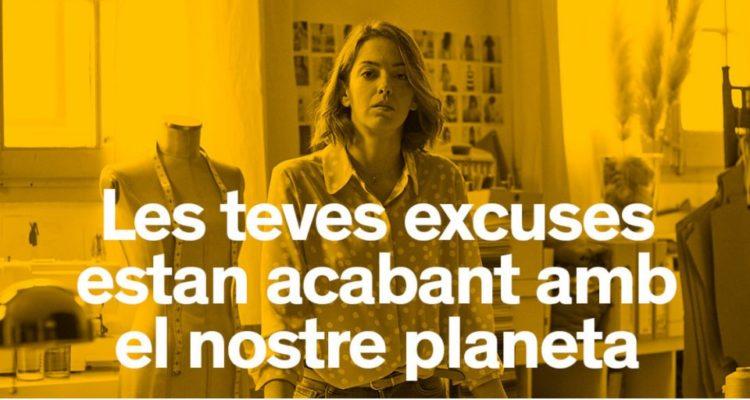 Gràfica de la campanya de foment del reciclatge d'EcoEmbes, EcoVidrio i la Generalitat de Catalunya.