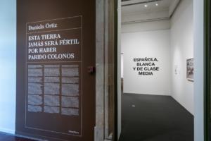 Exposició de l'artista Daniela Ortiz. Foto: Ajuntament de Barcelona