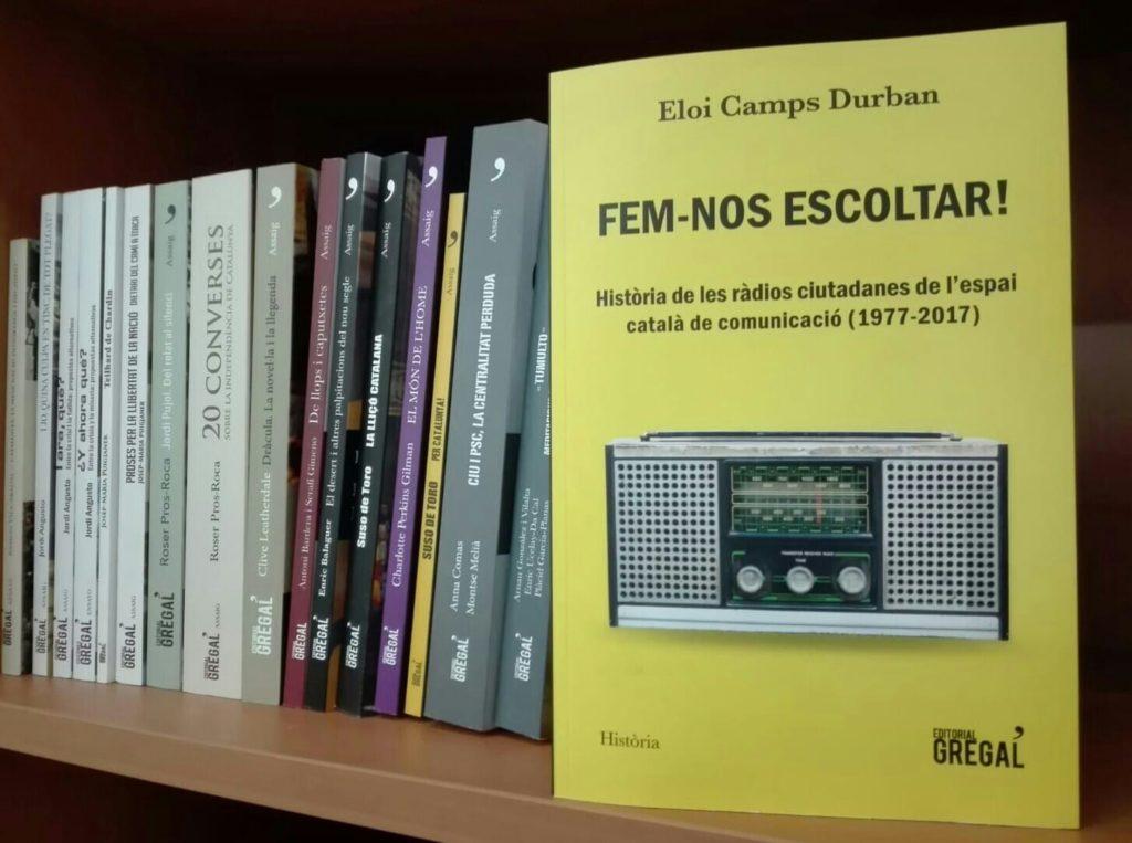 'Fem-nos escoltar', una recerca sobre ràdios comunitàries als Països Catalans d'Eloi Camps. Foto: Vicent Canet.