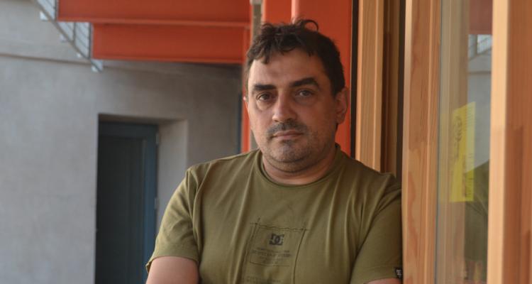 Jesús Rodríguez, periodista de 'La Directa'. Foto: Sergi Moyano.