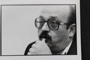 L'escriptor Manuel Vázquez Montalbán. Foto: arxiu PCE.