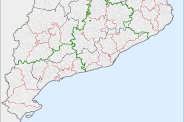 municipis comarques catalunya