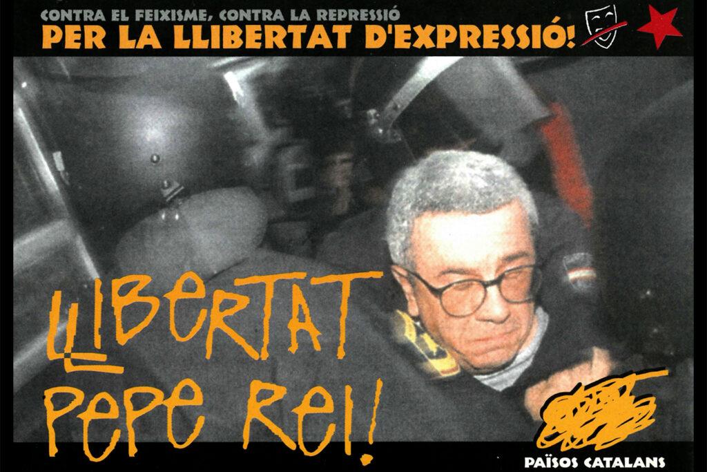 Campanya als Països Catalans contra l'empresonament de Pepe Rei i el tancament d'Ardi Beltza. Foto: Arxiu / Directa.