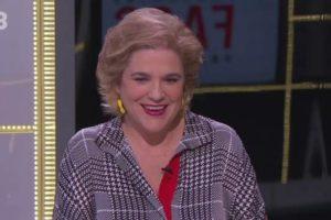 Pilar Rahola, en una de les seves intervencions al FAQS de TV3. Imatge: CCMA.