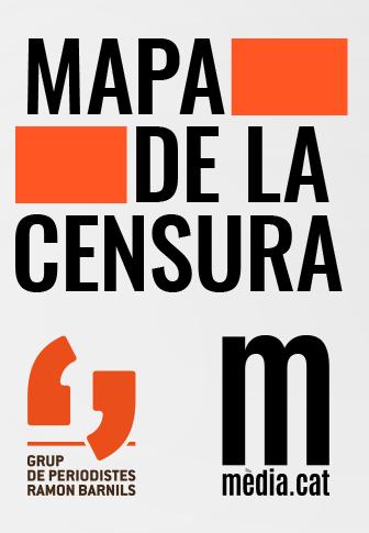 Mapa de la censura de Mèdia.cat