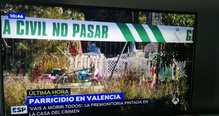 Els programes matinals de televisió, com 'Espejo Público', van centrar-se durant hores en el crim de Godella.