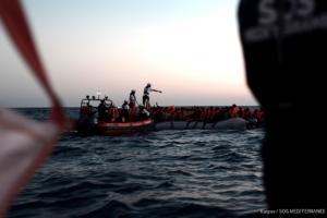 Imatge d'un rescat marítim